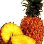 Piña en fruto