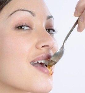 Tomando miel
