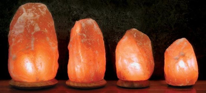 Resultado de imagen de lampara de sal