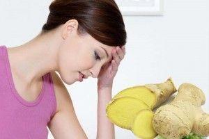 Gengibre para nauseas y vómitos